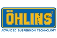 Ohlins - shock absorbers.