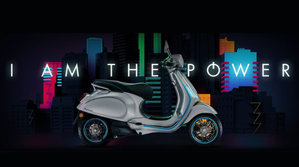 The all NEW Vespa Elettrica!
