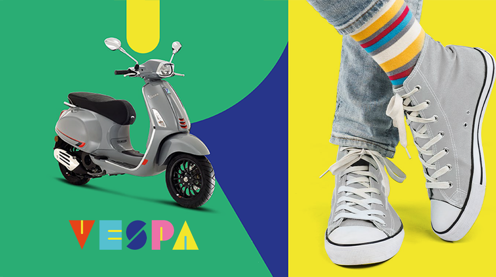 Ride into spring with Vespa!