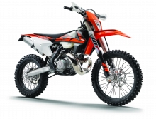 KTM uveils world's first 2-stroke fuel injection enduro machines